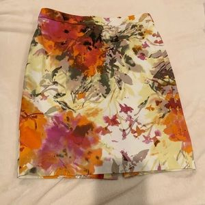 J.Crew Colorful Pencil Skirt, size 6